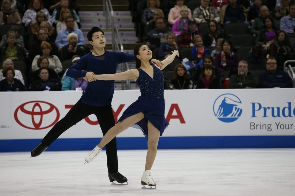 Maia Shibutani and Alex Shibutani are among the top teams vying for podium positions at Worlds. (Photo: Jay Adeff/USFS)
