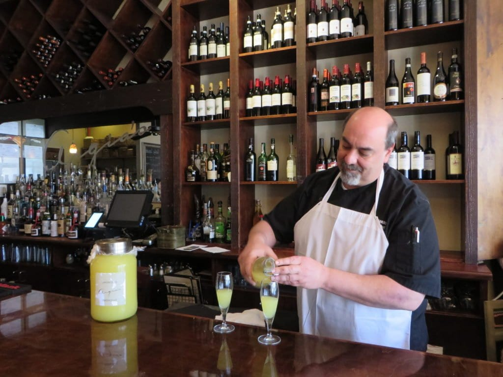 Steve Benincasa, executive chef at Argia's, says he'll head to nearby grocery store The Local Market or to Clare & Don's next door if he needs an ingredient in a pinch. (Photo: News-Press)