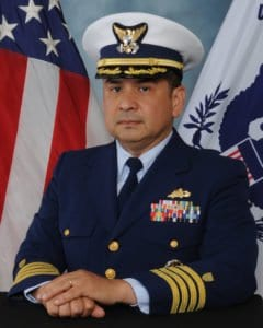 CAPT Wilbur A. Velarde, US Coast Guard