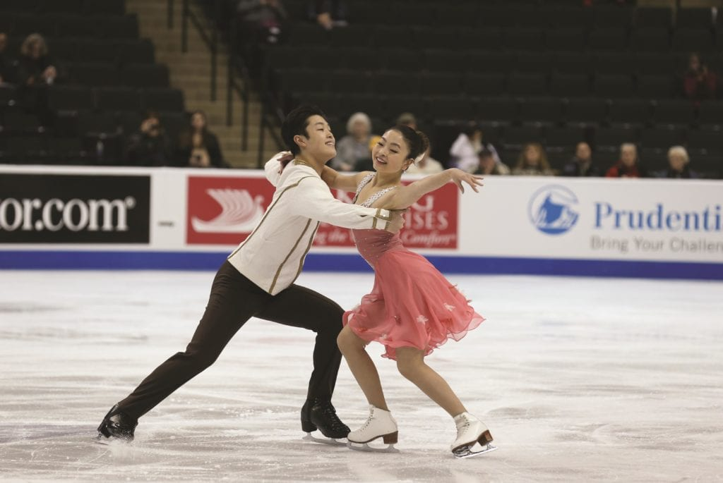 Defending ice dance champions Maia and Alex Shibutani. (Photo: Courtesy of U.S. Figure Skating)