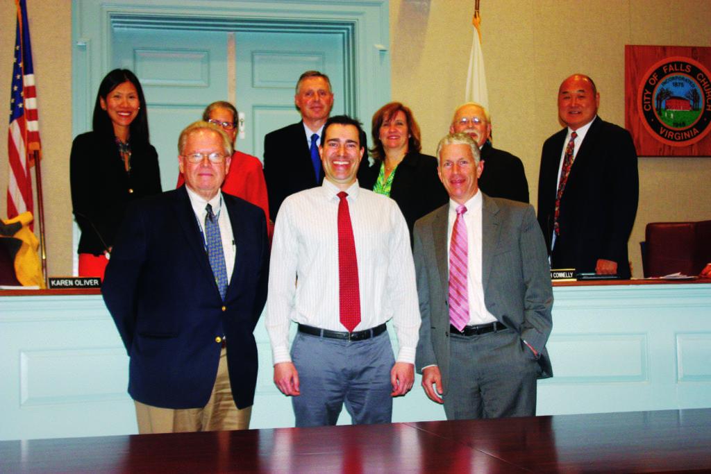 Rushmark's Stefan Gassner (center). (News-Press photo)