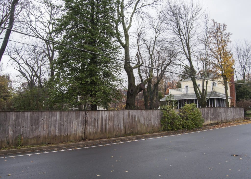 IF THE PROJECT IS APPROVED, the Snyders would build an additional house in their backyard, using the land they currently own and the land they want to buy from Columbia Baptist Church. (Photo: Drew Costley/News-Press)