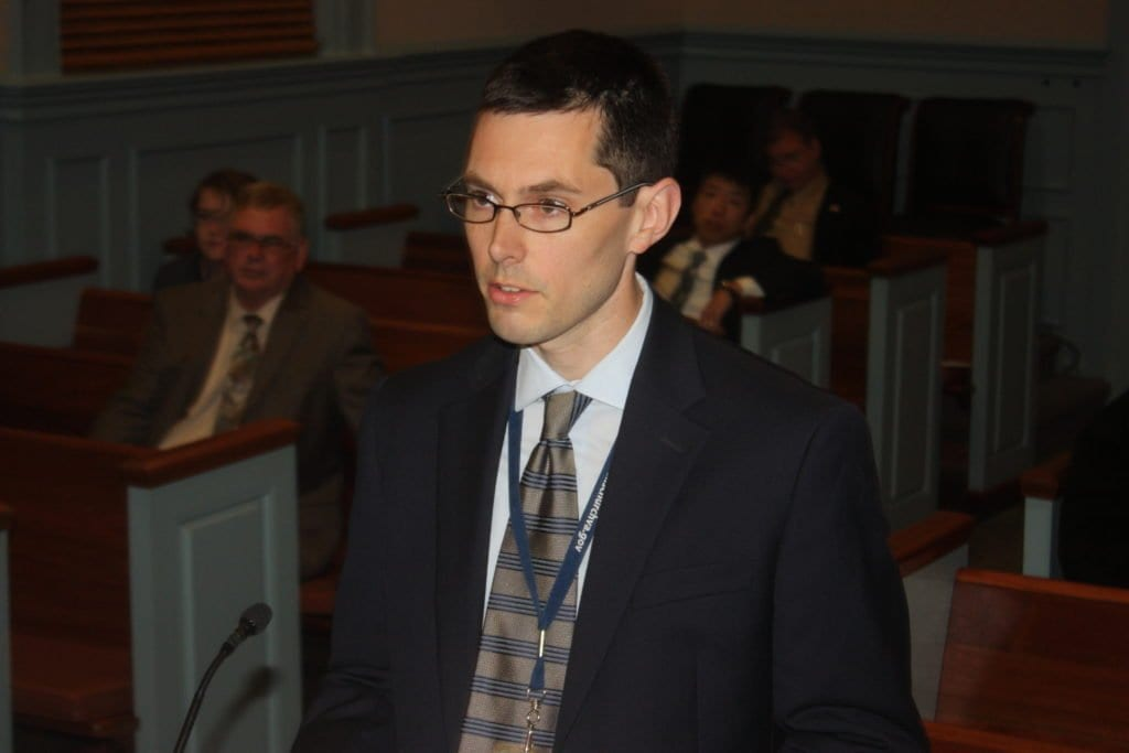 Paul Stoddard, principal planner for the City of Falls Church. (News-Press photo)