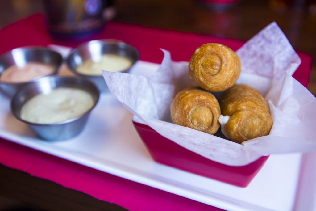 Tequenos have replaced tequenones on the menu. (Photo: Jody Fellows)