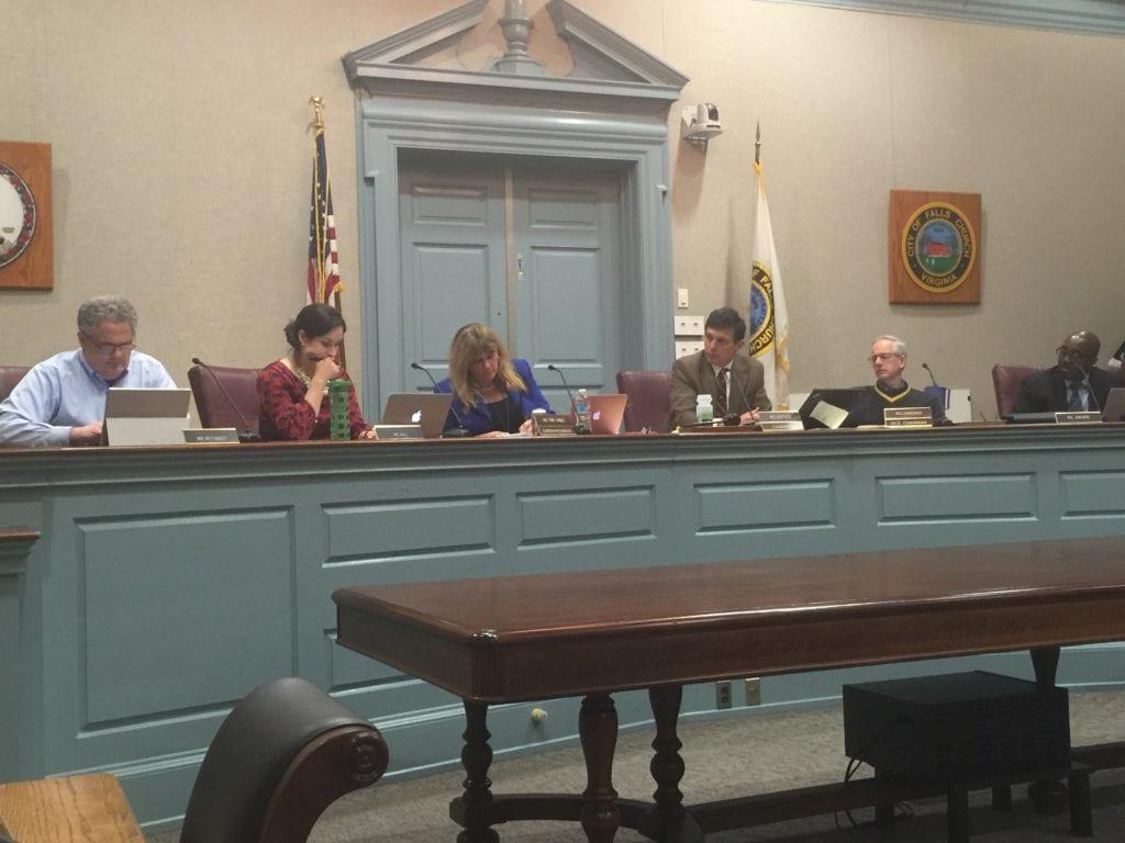 THE FALLS CHURCH School Board finally won approval of its Mt. Daniel School expansion Wednesday night.