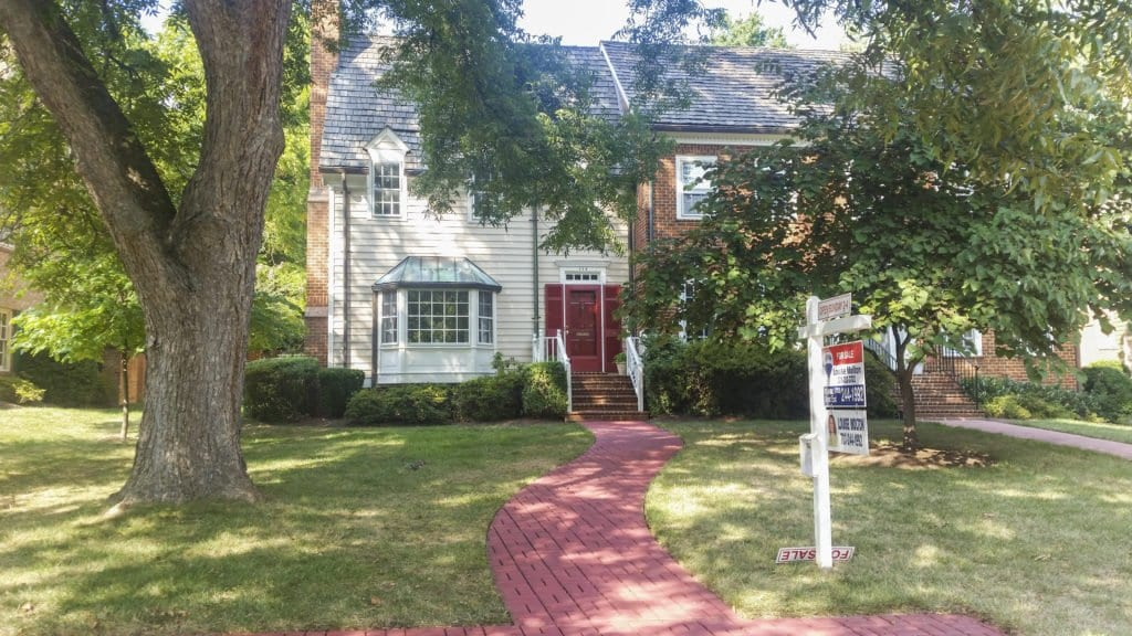 THIS HOUSE ON TOLLGATE WAY in Falls Church City is one of those rare finds in the area when it comes to per square foot pricing, coming in at $262 per square foot. (Photo: News-Press)