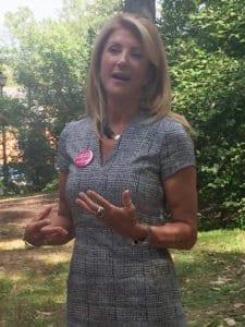 Texas State Sen. Wendy Davis was in Falls Church on Labor Day. (Photo: News-Press)