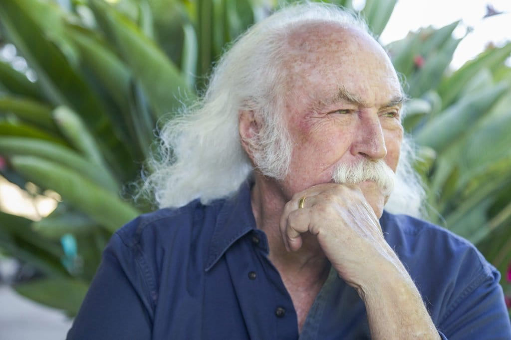 DAVID CROSBY. (Photo: Courtesy of Henry Diltz)