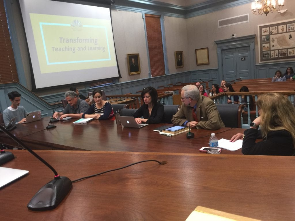 THE FALLS CHURCH SCHOOL Board was divided on the issue of terminating current process of developing the 36 acre school campus site. A 3-3 vote tonight pushes the decision to the City Council Monday. (Photo: News-Press)