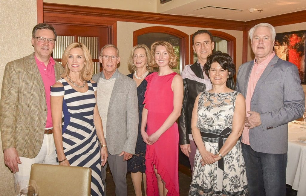 The models of the New Dominion Women's Club's Spring Fling Fashion Show. (Photo: Courtesy of Anne Deger)