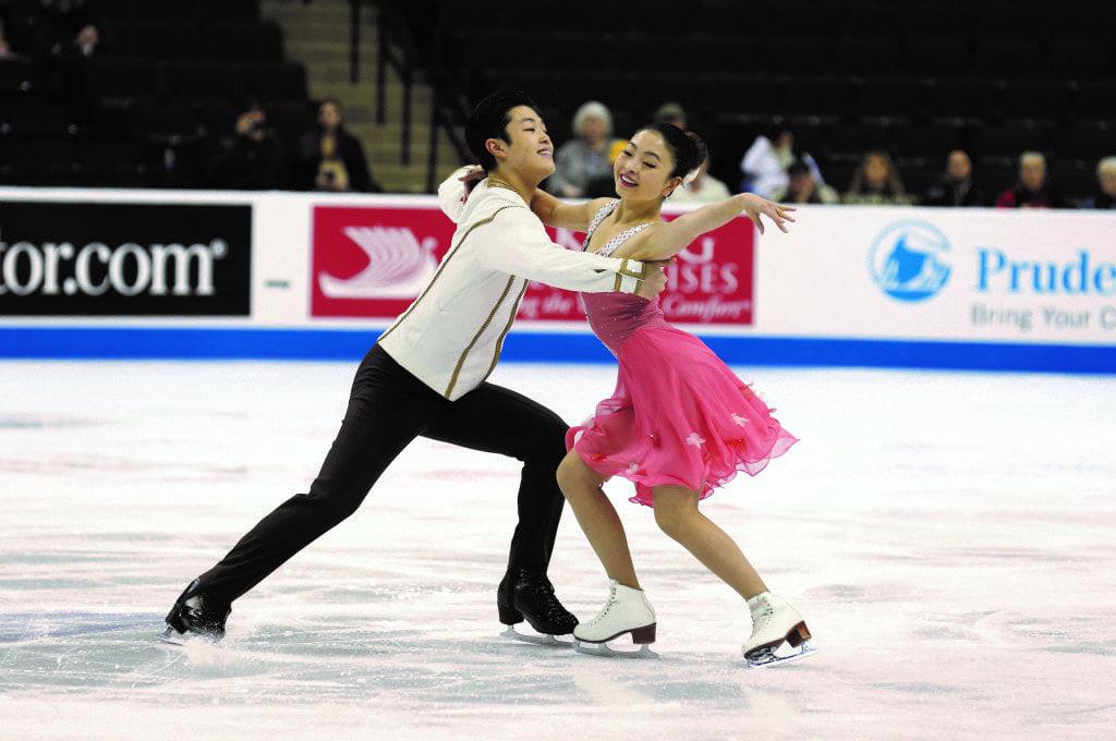 U.S. Ice Dance Champions Maia and Alex Shibutani. (Photo: Courtesy of U.S. Figure Skating)