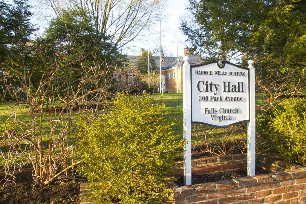 PLANS TO AUTHORIZE MONEY to begin a multi-million dollar renovation project for Falls Church's City Hall have apparently been once again delayed. (Photo: News-Press)