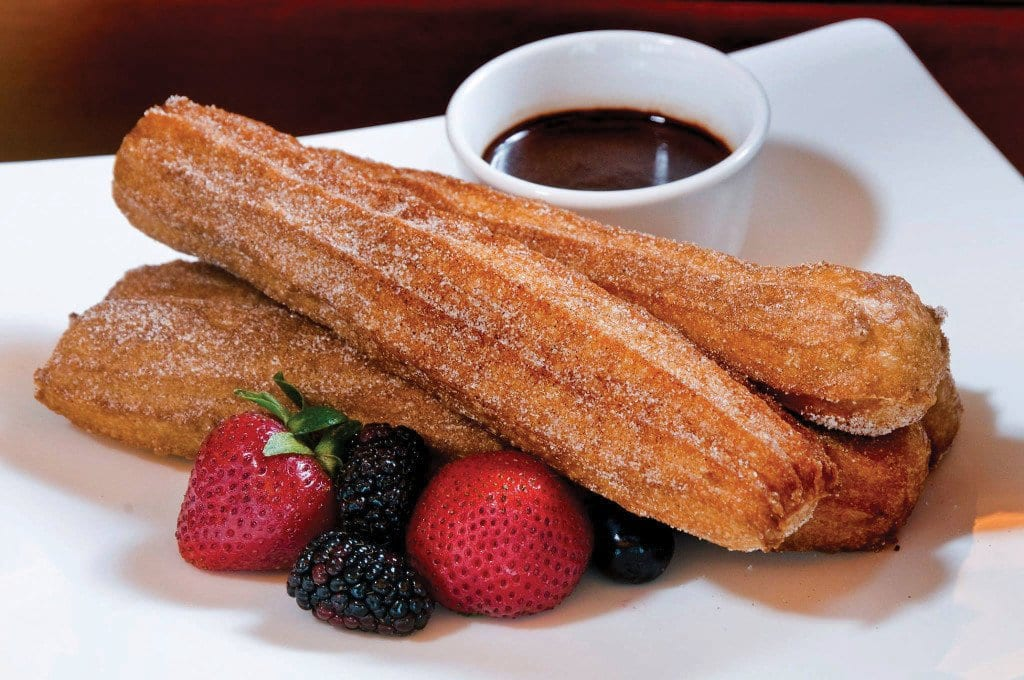 Sea Pearl's new brunch buffet includes churros and chocolate sauce. (Photo: Sea Pearl)