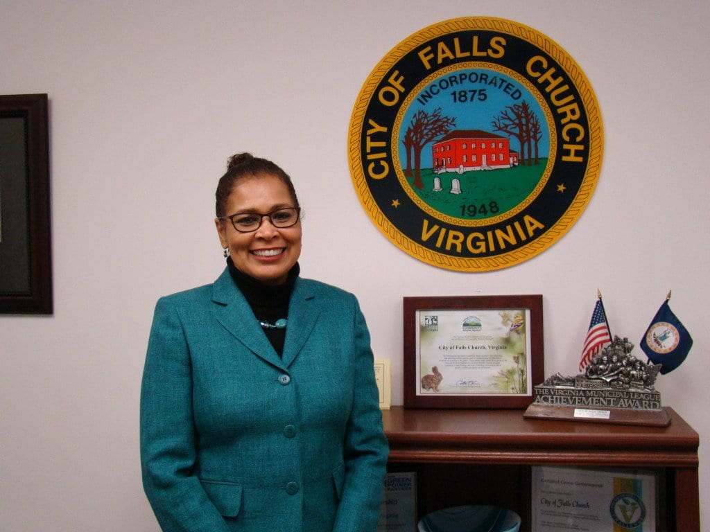 New City of Falls Church HR director Dianne Lowther. (Photo: City of Falls Church)