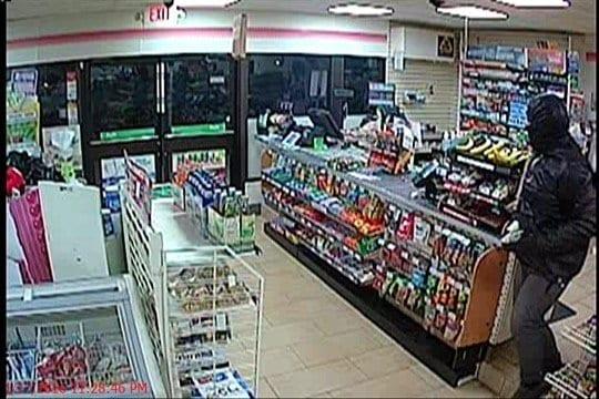 7-Eleven surveillance footage.
