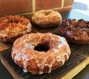 Astro's new cake doughnuts are now available at its Falls Church location. (Photo: Astro Doughnuts)
