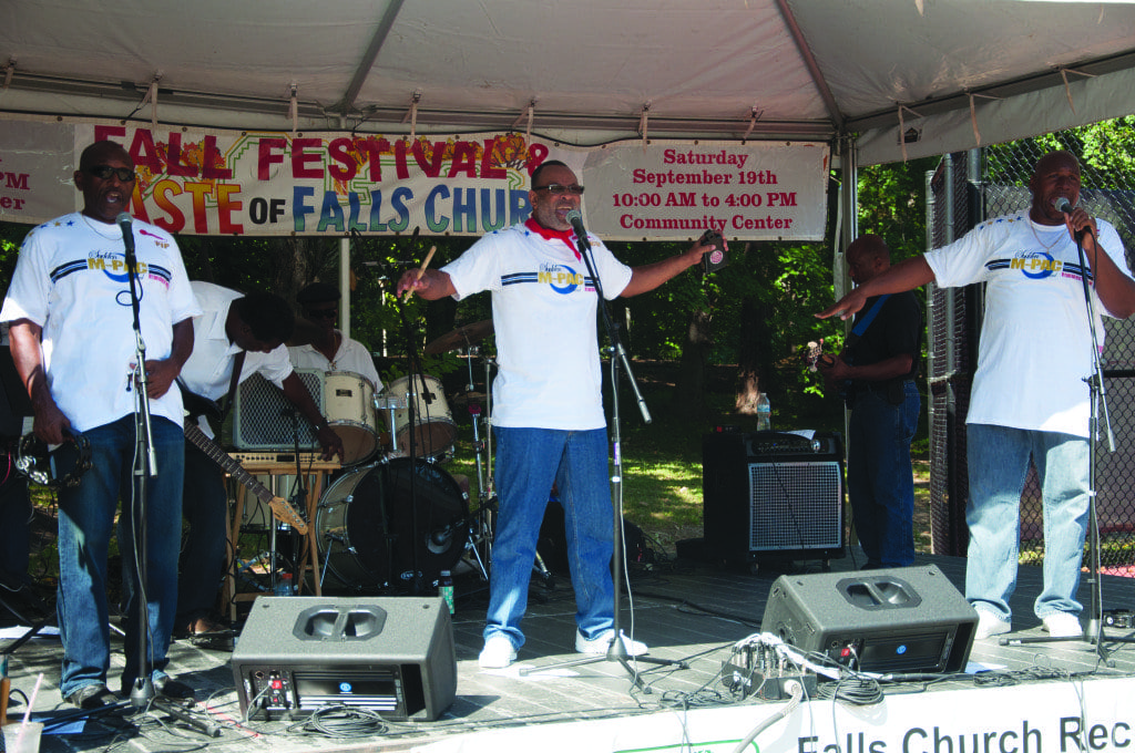 Sudden M Pac, shown here performing at the Taste of Falls Church and Fall Festival in September, will be the main act at this year's Watch Night New Year's Eve Celebration. (Photo: Drew Costley)