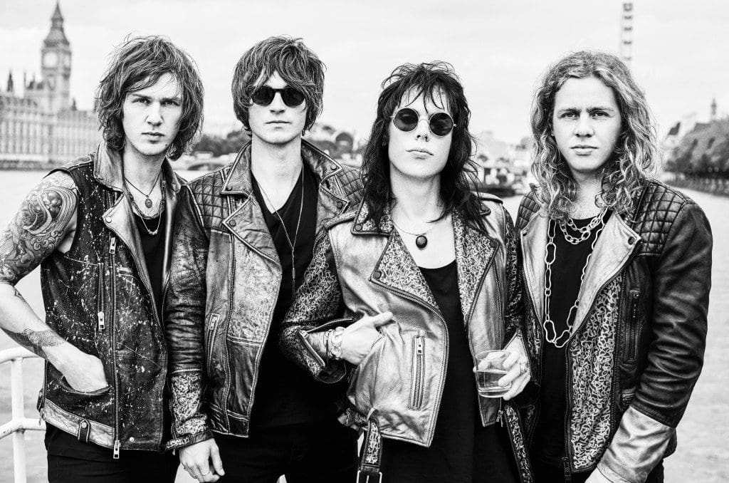 The Struts. (Photo: Courtesy of Joan Akerlund)