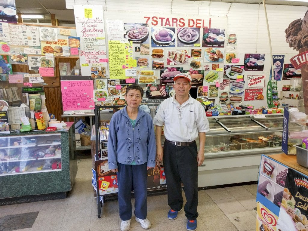 Kim (left) and Tom Tao owned Seven Stars for nearly 30 years before closing on Friday, Nov. 27. (Photo: Courtesy of Hung Do)