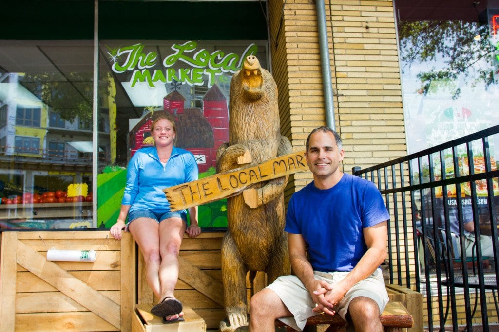 PATRICK FLEMING AND TAMARA POWELL are the new owners and operators of The Local Market, a locally-sourced grocery store in the City of Falls Church. (Photo: Jody fellows)