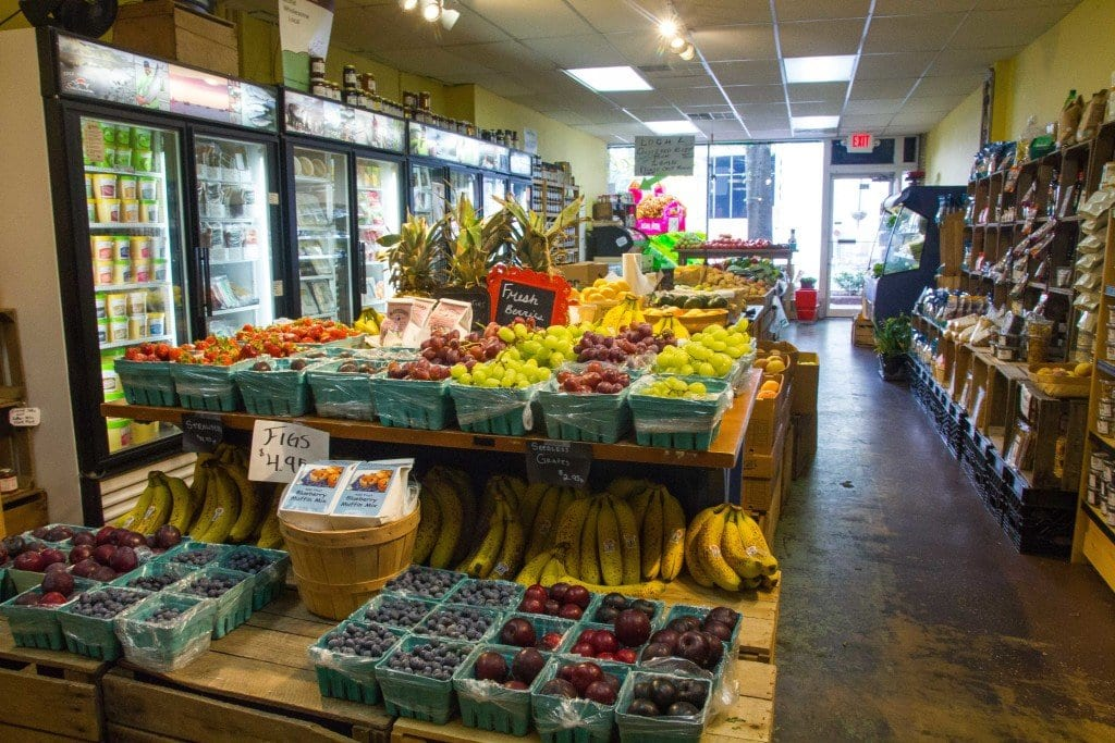 Local fruits, vegetables, meat, cheese and much more is available at The Local Market. (Photo: Jody Fellows)