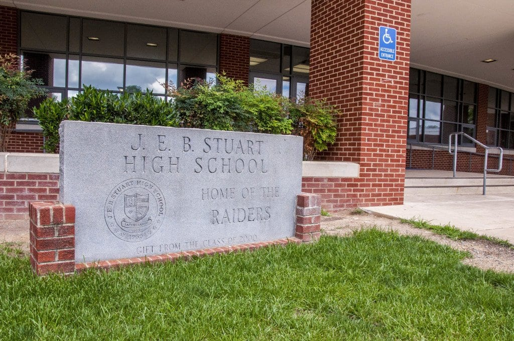 The Fairfax County branch of the National Association for the Advancement of Colored People publicly announced on Sept. 6 that they are joining the fight to change the name of J.E.B. Stuart High School. (Photo: Drew Costley/News-Press)