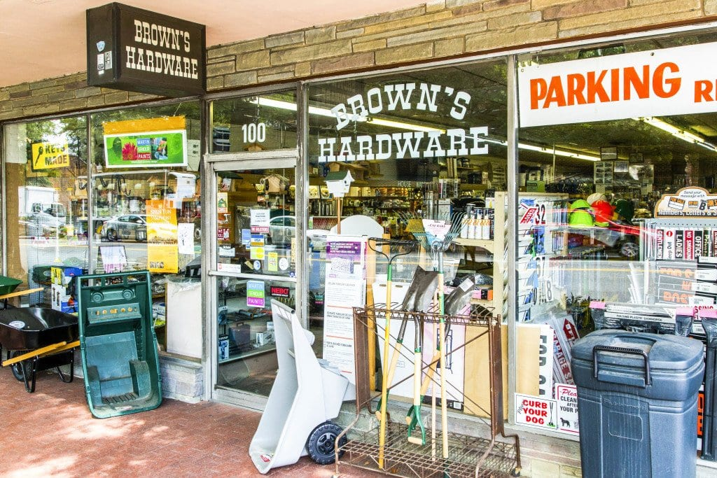 Best Retail Store--Brown's Hardware PAPER