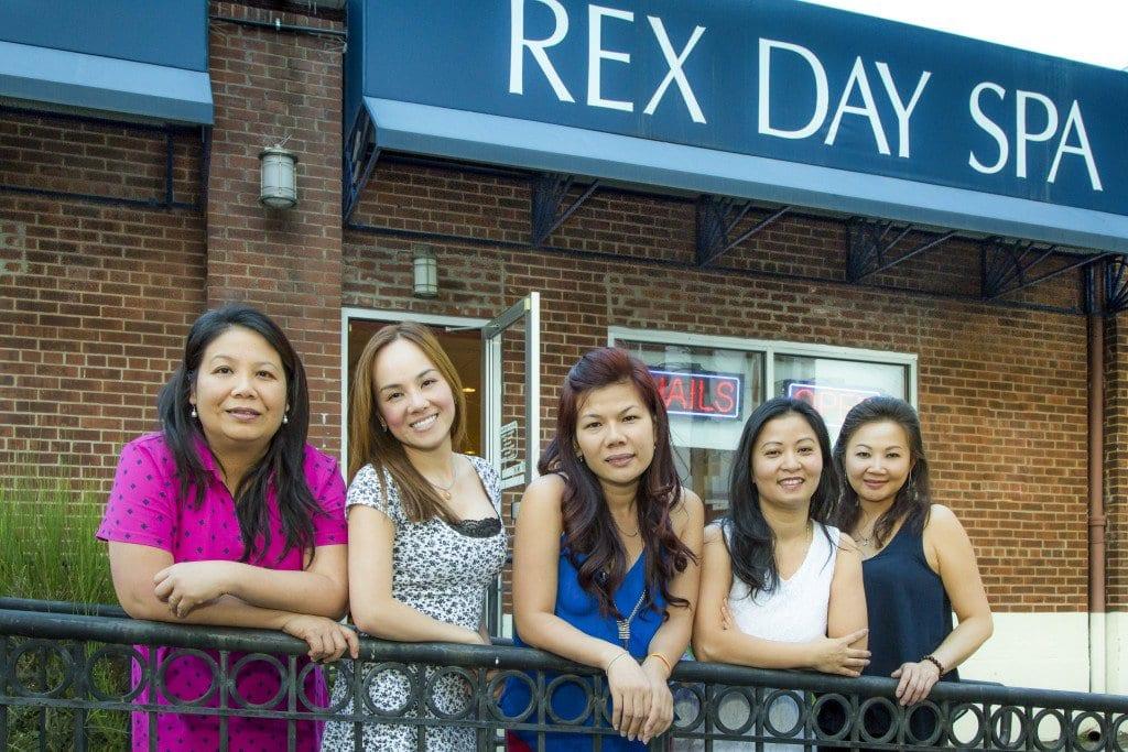 Best Nail Salon--Rex Day Spa PAPER