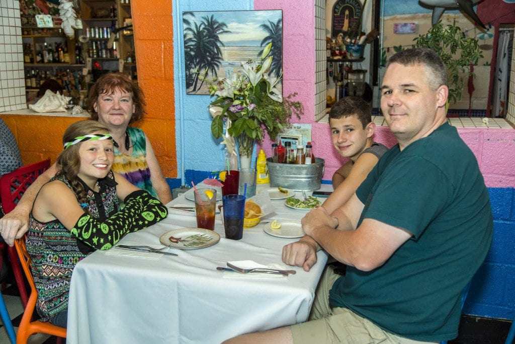 Best Kid-Friendly Dining--Claire and Don's Beach Shack PAPER