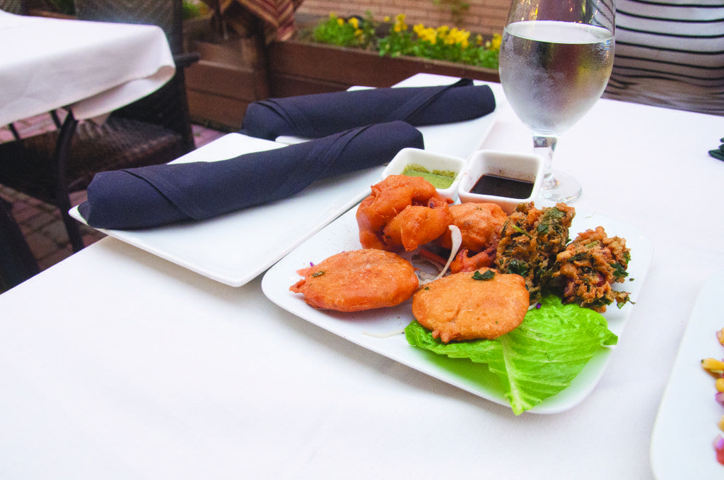 The Vegetable Pakora at Delhi Dhaba is above average, but the spinach pakora that's part of the dish is excellent. (Photo: News-Press)