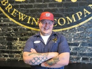 Mad Fox executive chef Travis Weiss at the new Glover Park location. (Photo: Mad Fox)