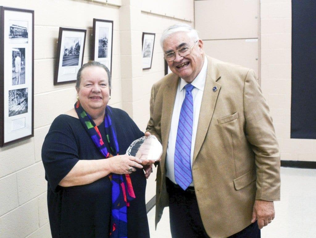 Mary Anne Hamton with Glenn Yarborough. (Courtesy Photo)