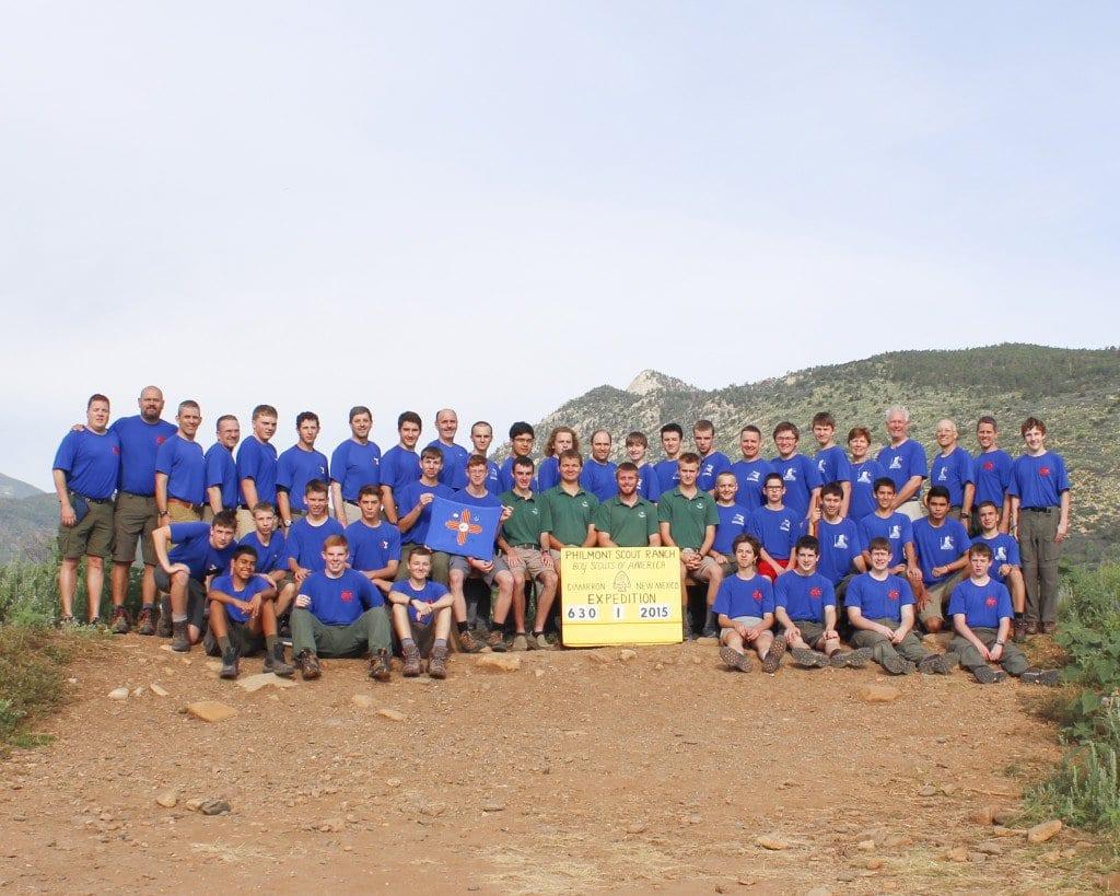 Falls Church Boy Scout Troop 895 recently took a previously unprecedented trip to Philmont Scout Ranch. (Photo: Courtesy of Boy Scout Troop 895)