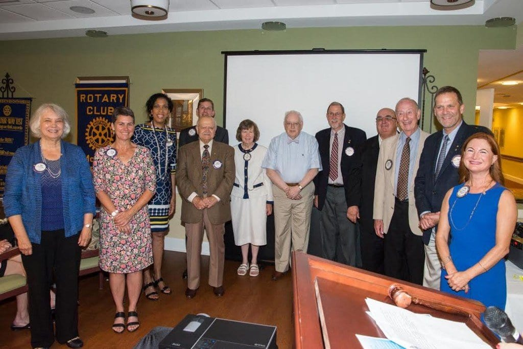 The 2015-2016 officers and directors of the Rotary Club of McLean. (Photo: Courtesy of Tom Mangan)