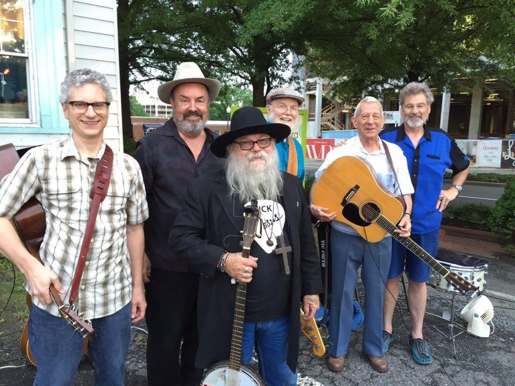 Rosser Clark, Andrew Acosta, Bobby Joe Small, Harold Richmond, John Kaparakis and Dave Elliott at the Bobby Joe Jamboree last Friday.  (Photo: Courtesy of Barb Cram)