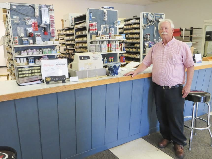 John Shreve (above), 68, began working at what was then his grandfather's business when he was 16. He took over the business in the 1970s.