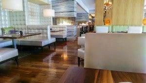 The swanky Harth dining room. (Photo: Jody Fellows)