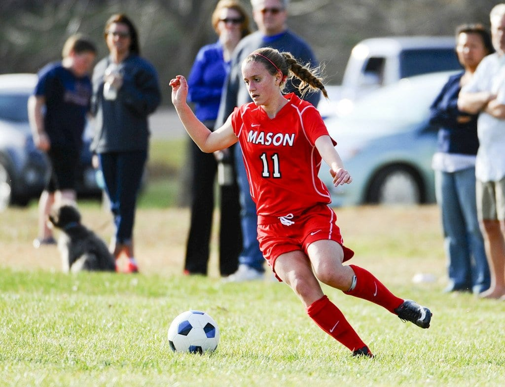 mason junior kate mills scored a career high five goals against Strasburg High School  on Tuesday. (Photo: Courtesy of Brad Mills)