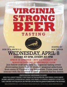 Strong Beer Tasting April 8_2
