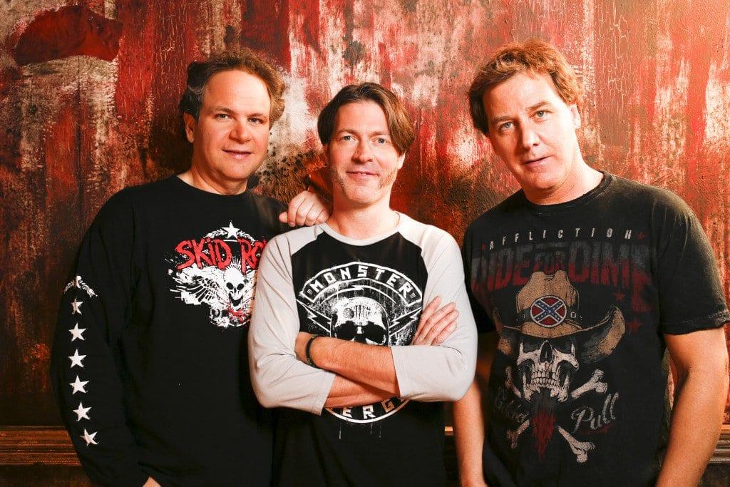 Eddie Trunk, Don Jamieson and Jim Florentine  (Courtesy Photo)