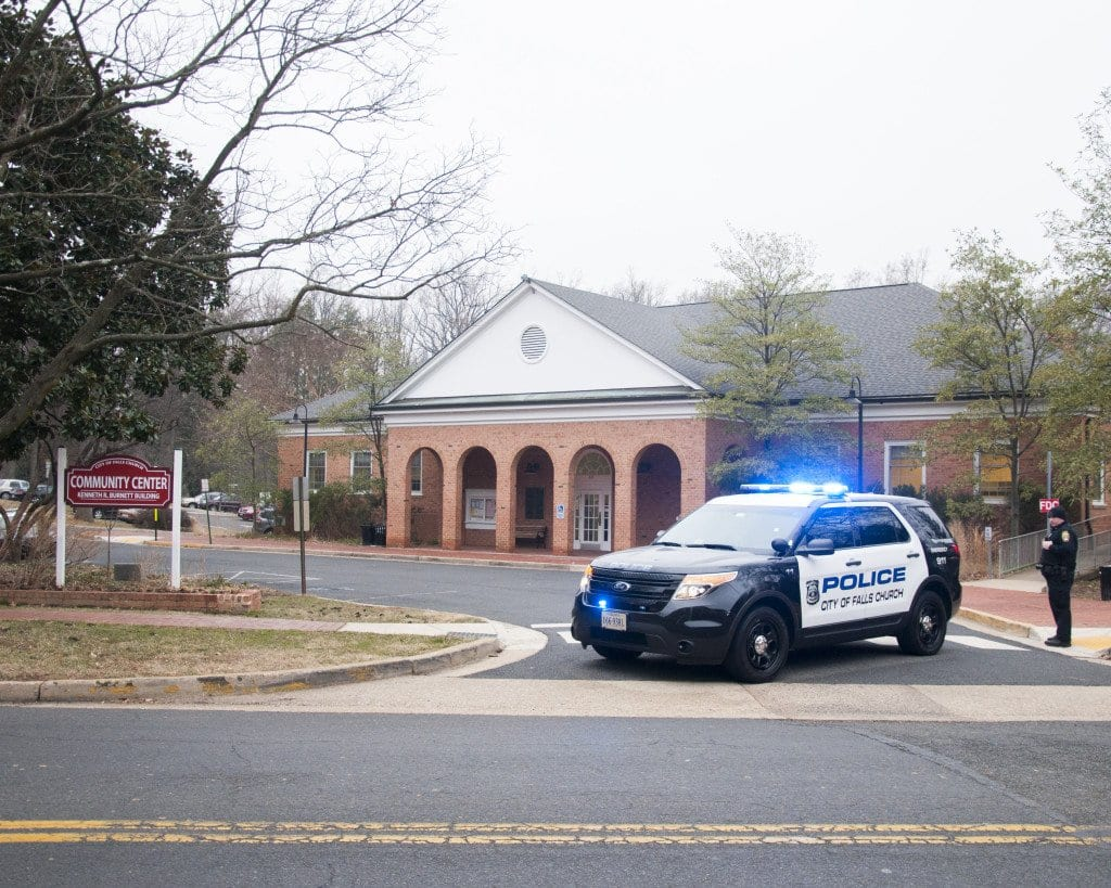 Falls Church's City Hall was evacuated this evening after a suspicious package was found in the building. (Photo: News-Press)
