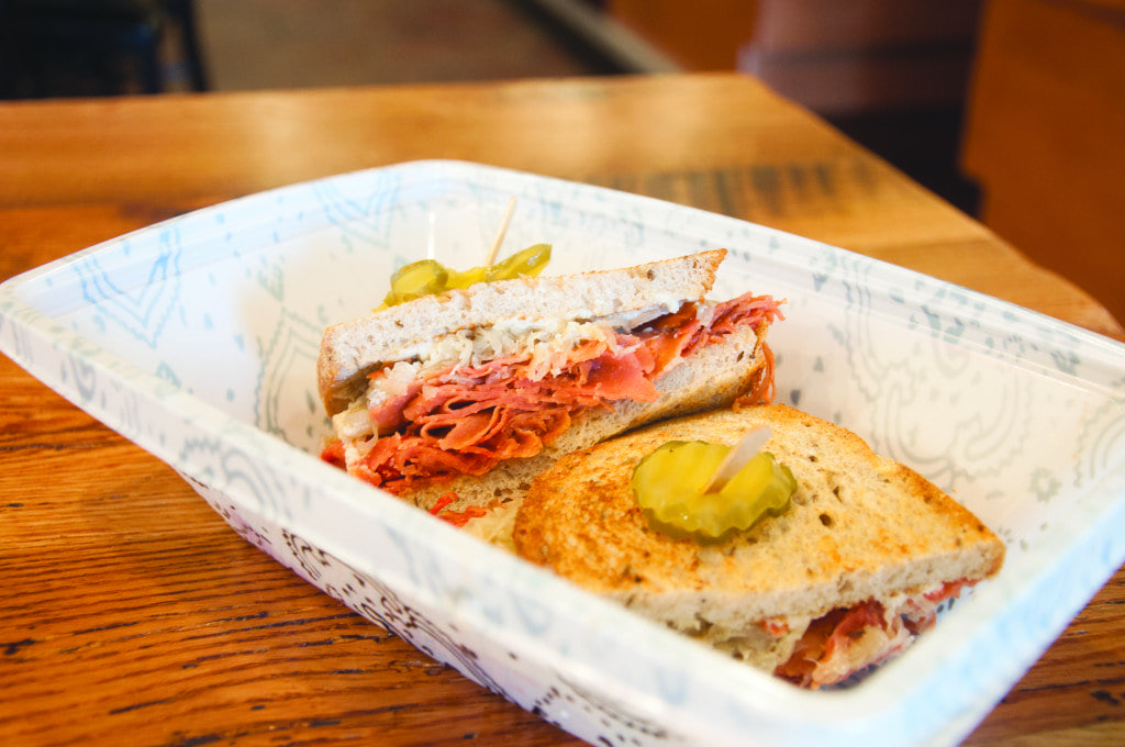 The Classic Deli Reuben at Native Foods Cafe is one of the restaurants' great sandwich offerings. (Photo: News-Press)