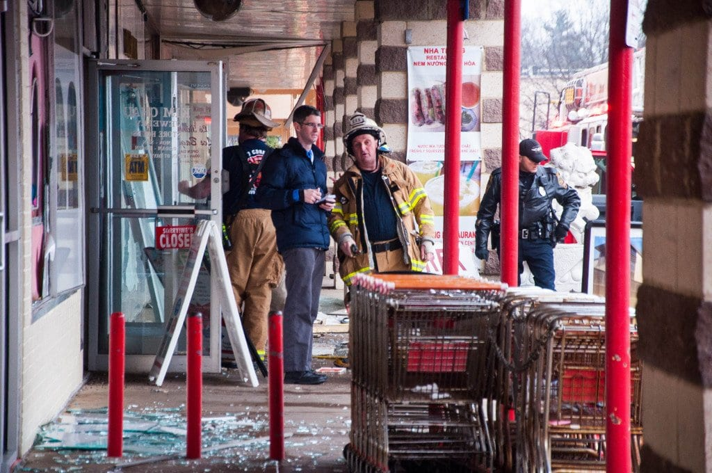An explosion at Eden Center left three people injured Wednesday. (Photo: News-Press)