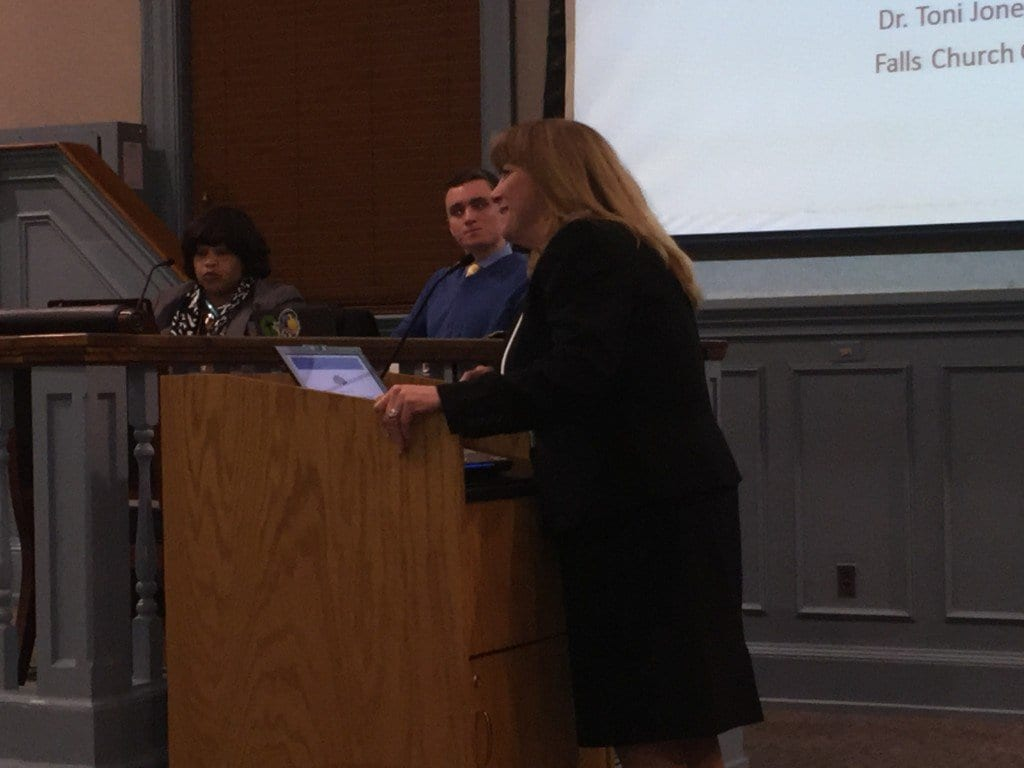 F.C. Schools Superintendent Dr. Toni Jones presented her recommended budget to the School Board Tuesday. (Photo: News-Press)
