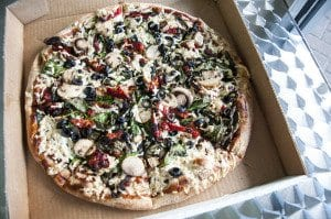 Naked Pizza recently expanded their menu to include several more pizza topping options and side dishes. (Photo: Drew Costley/News-Press)