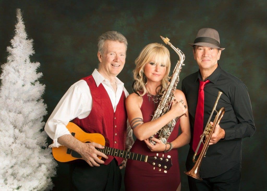 Peter White, Mindi Abair and Rick Braun (Courtesy Photo)