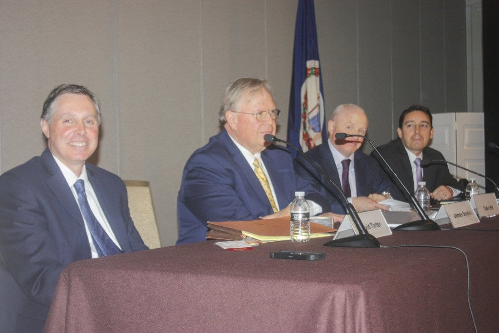 THE CITY OF FALLS CHURCH was the focus of a panel held at the NAIOP Luncheon on Wednesday, May 4. (Photo: News-Press)