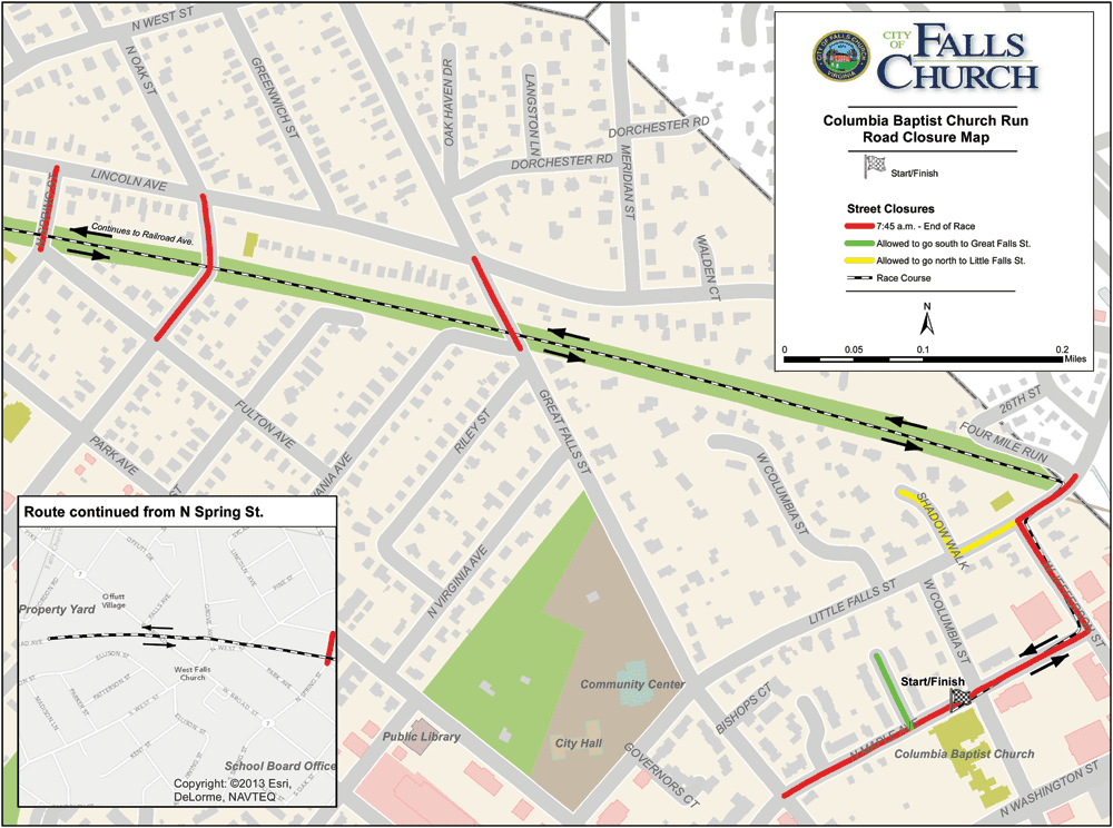 (Map: City of Falls Church)