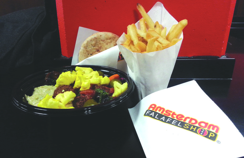 Amsterdam Falafelshop opened a new location in Clarendon last month. (Photo: News-Press)