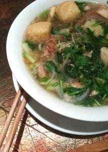 The pho at Caphe Banh Mi is tasty, hearty and comforting. The Pho Chay, shown above, is the restaurant's vegan pho option. (Photo: News-Press)